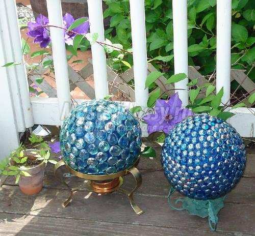 Сделать шар своими руками в саду 563