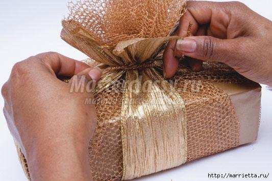 Подарочная упаковка своими руками мастер класс