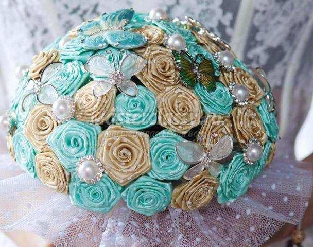 Фото букеты для невесты своими руками