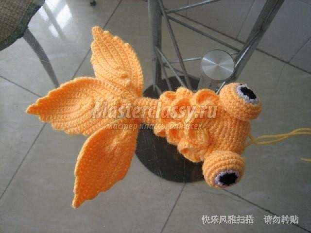 Сделать золотую рыбку своими руками