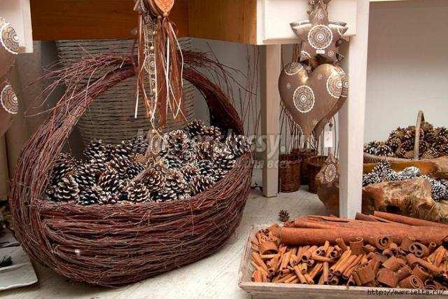 Декор для дома из природного материала своими руками