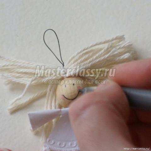 Ангелочки своими руками мастер класс с пошаговым фото