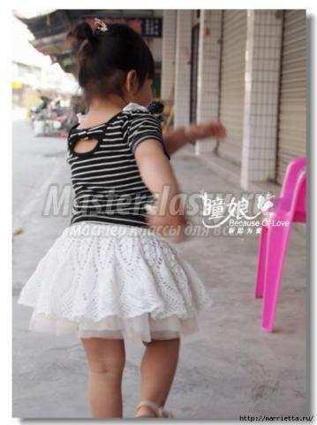 Как сшить бальную юбочку для девочки фото 713