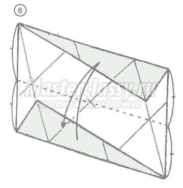 схема оригами икосаэдр