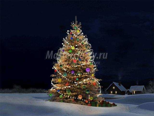 Новогодние елки своими руками фото мастер класс