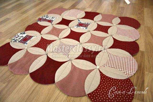 Пэчворк своими руками коврики