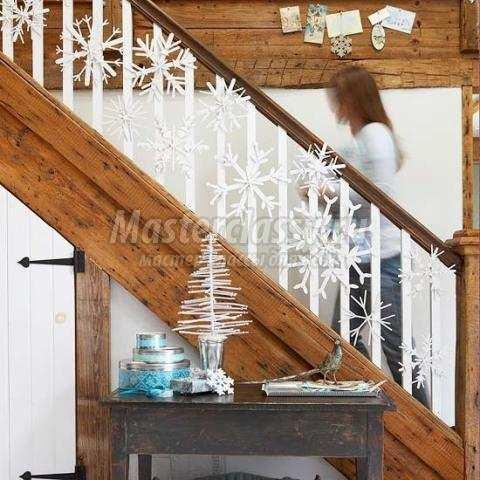 Декор лестницы фото