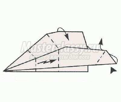 схема оригами носорог своими