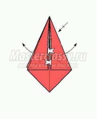 Оригами из бумаги своими руками схема коробочка фото 715