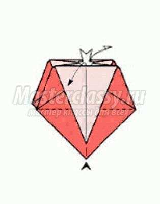 Оригами из бумаги своими руками схема коробочка фото 574