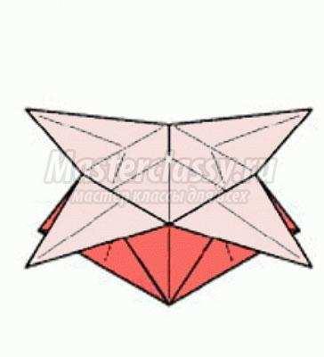 Оригами из бумаги своими руками схема коробочка фото 149