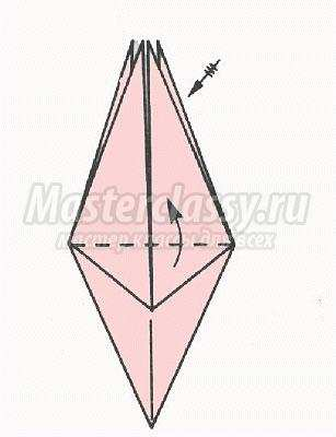 "Схема оригами ""Ирис"" своими"