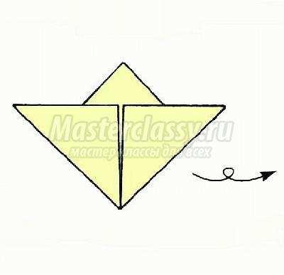 схема оригами ирисы аппликация
