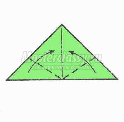 как сделать оригами золотая
