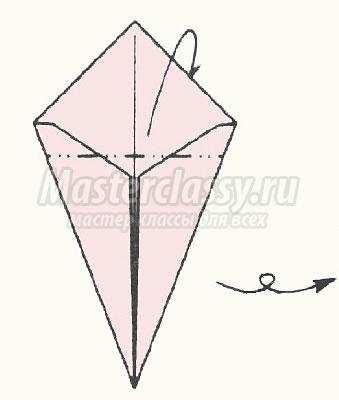 схема оригами баба яга своими