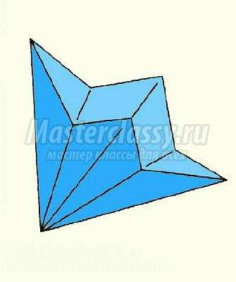 Колокольчик своими руками оригами