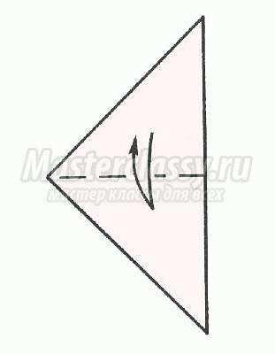 оригами золотая рыбка схема