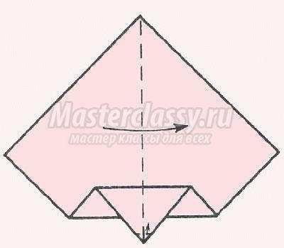 как сделать оригами королевна
