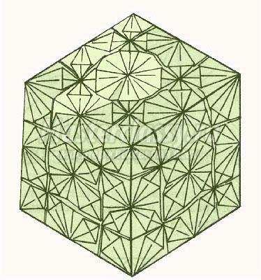 как сделать оригами ажурный