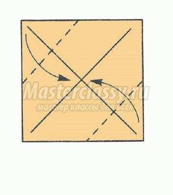 Оригами схема кубика