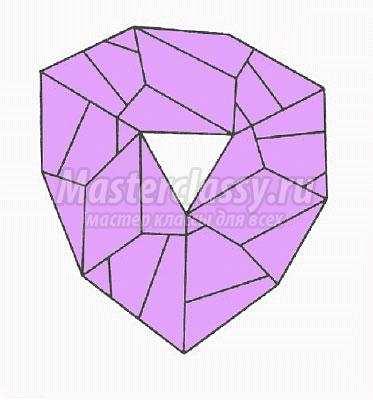 как сделать модульное оригами