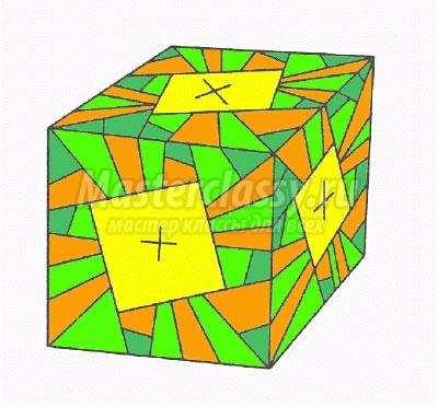 как сделать оригами куб из