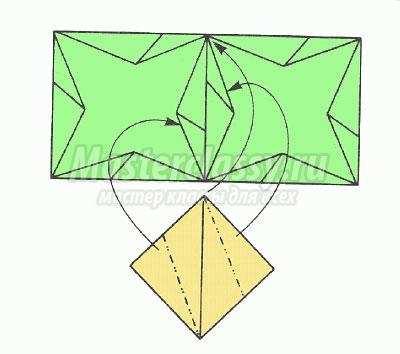 """Как сделать оригами """"Модуль"""