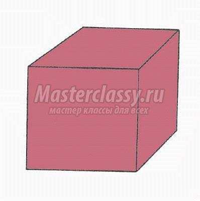 """Схема оригами """"Обычный куб"""""""
