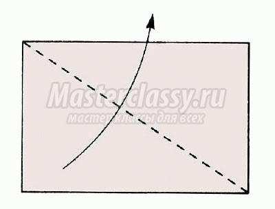 """Схема оригами """"Мотылёк"""" своими"""