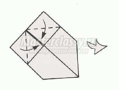 оригами рыба своими руками