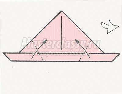 оригами поросёнок своими