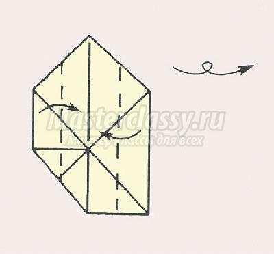 """Как сделать оригами """"Ромашка"""""""