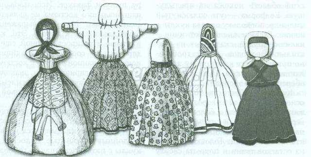 тряпичная кукла в народных традициях своими руками