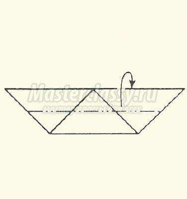 схема оригами яблоко своими