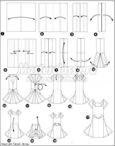 платье своими руками схема