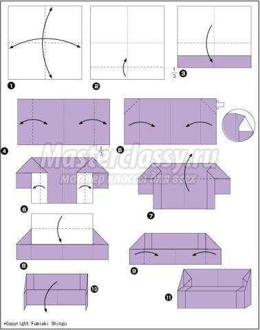 Как сделать из бумаги стола