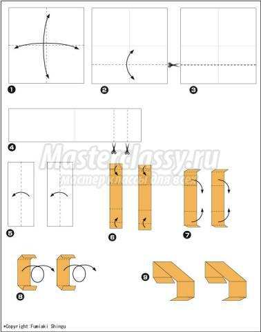 Как сделать качели из бумаги 3 класс