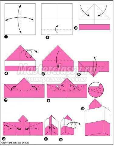 оригами торт своими руками