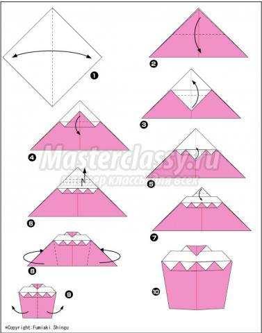 как сделать оригами вкусный