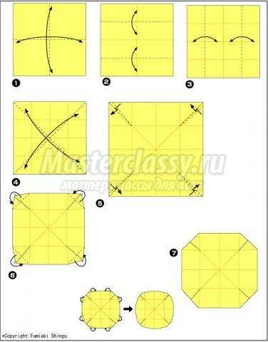 Как сделать из бумаги фрисби