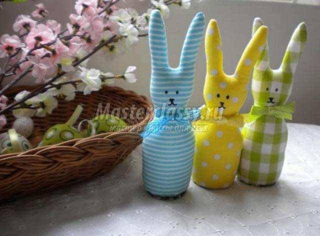 Пасхальные кролик своими руками