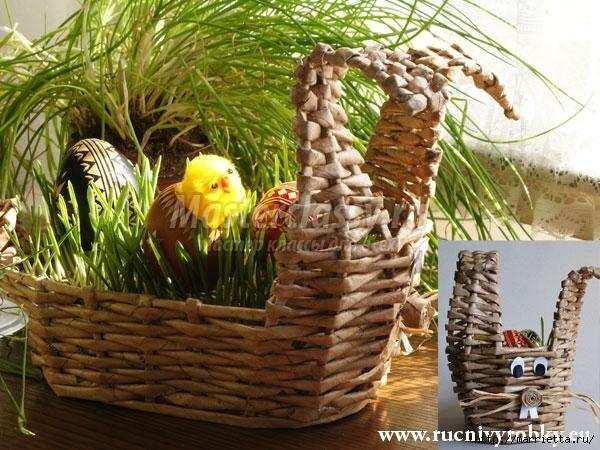 Как сделать зайца своими руками из картона