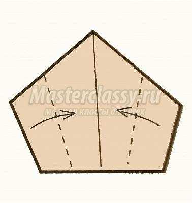 как сделать оригами парусник