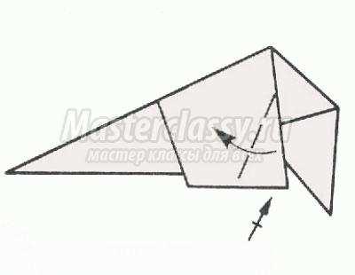 Белочка оригами схема с пошаговым