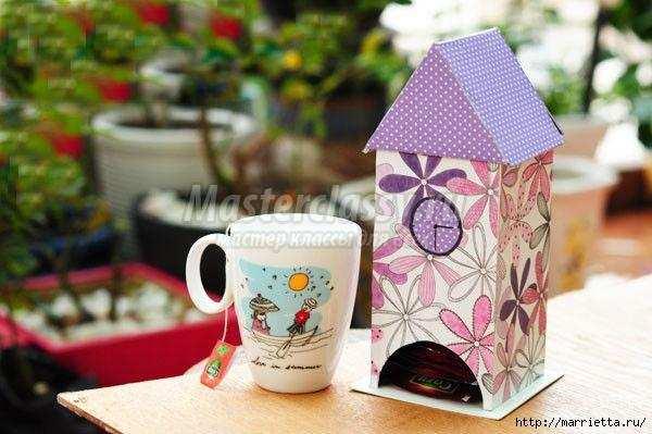 Чайные домики из фанеры своими руками
