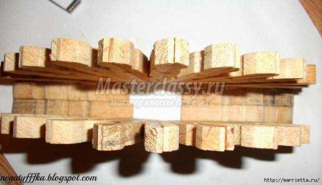 Бочонки из прищепок деревянных своими руками фото 640
