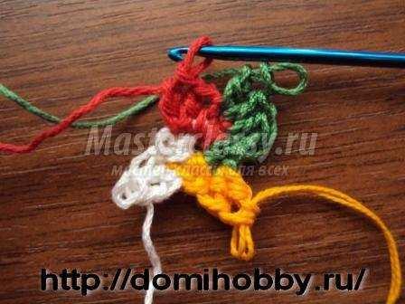 Вязание крючком светофор 106