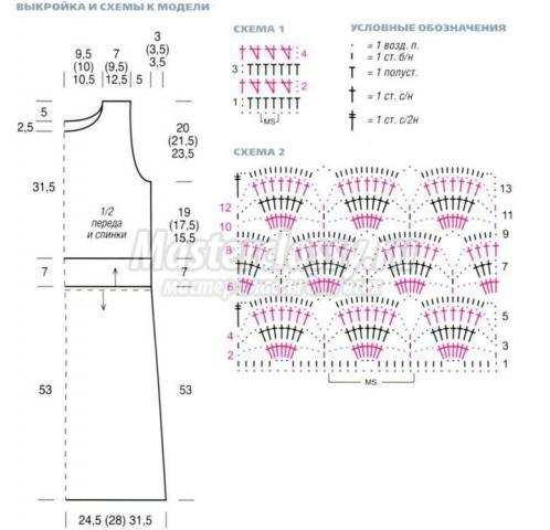 как связать конфетницу крючком схема и описание
