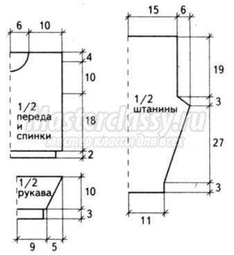 Схемы вязания полиэфирным шнуром