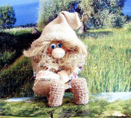 Домовушка луша вязание спицами 37